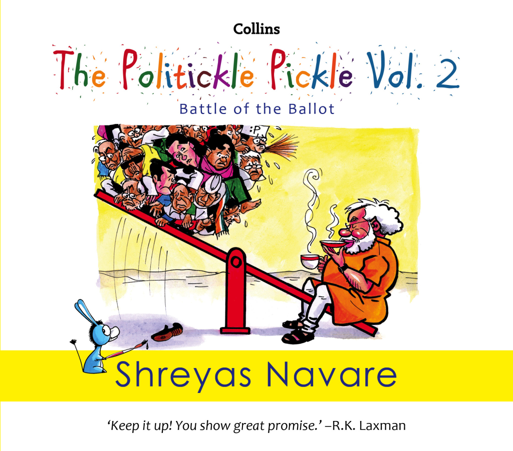 The Politickle Pickle Vol 2 Front COVER