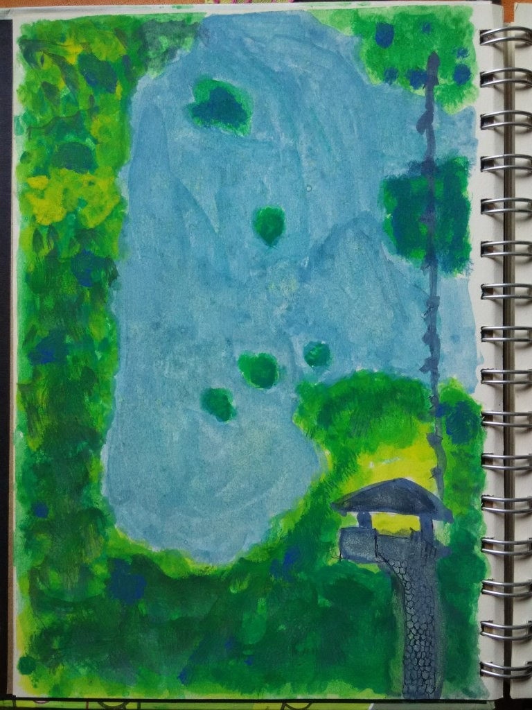 Image 1- A page from my field diary