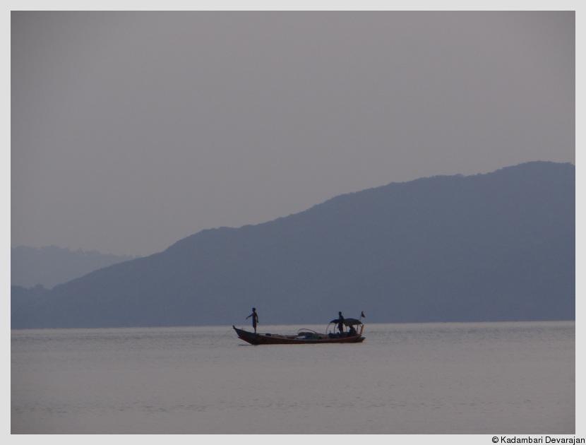Fishermen at twilight - Chidiatapu